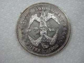 US George Washington 1982 250th Anniversary Double Eagle Coin