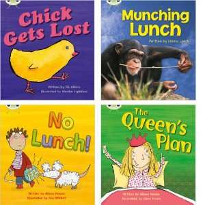 Bug Pack 4 (Pack of 4 Reading Books with 3 Fiction and 1 Non Fiction