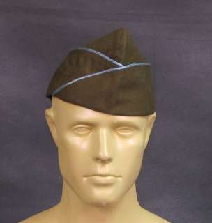 WWII Issue Garrison Cap  Infantry & Paratrooper Size US 7 1/4