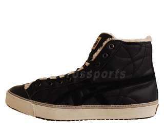 Asics OK Basketball Hi Leather Fur High Top Mens Casual Shoes