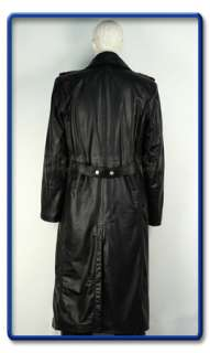 WW2 German Officers Horsehide Leather Great Coat L