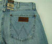 Mens Western Wrangler Retro Slim Boot Cut Premium Patch Jeans NWT 36 x
