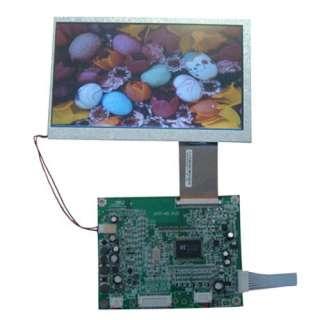 VGA/AV tft Driver board D717 N3 V1.5+7inch HSD070IDW1 800*480 7tft