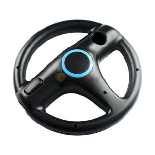 New Black STEERING WHEEL FOR Wii MARIO KART RACING GAME