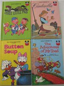 Lot of 22 Walt Disney Wonderful World Of Reading Books   Hardcover