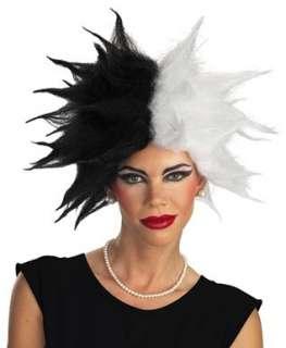 Cruella De Vil Deluxe Adult Wig   Officially Licensed TM Wig Clothing
