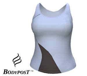 BODYPOST Womens Athletic Sports Workout Exercise Sleeveless Tank Top