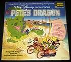 1977 Walt Disney Petes Dragon Book 33 1 3 RPM Record Set