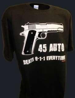 Colt 1911 Glock 9mm Ak47 357 Firearms Pro Gun 2nd Amend T Shirt