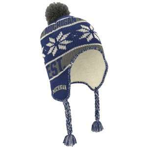 Michigan Wolverines adidas Originals Pom Top Tassel Knit