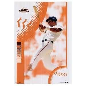 SAN FRANCISCO Giants MLB MOISES ALOU Poster Baseball