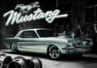 Ford Mustang 3D Lenticular Hot Rod Muscle Poster Ln0045 066613000455