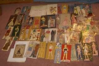lot PAPER DOLLS 1930s 40s 50s unique COLONIAL BOY GIRL BABY