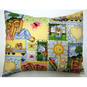 Sheetworld   Twin Pillow Case   Whistlestop Bunny Patch   Made In USA