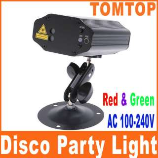Mini RG Projector Voice   control Laser Stage Lighting Club Disco