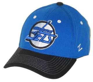WINNIPEG JETS NHL HOCKEY BLUE JUMBOTRON FLEX FIT FITTED HAT/CAP XL NEW