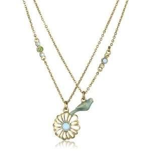 Lucky Brand Bird Best Friend Necklace Jewelry