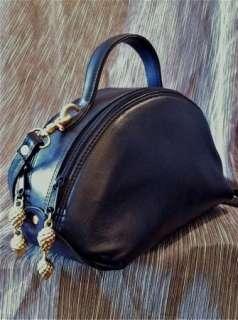 Brio Leather Purse Satchel Womens Doctor Bag Speedy Shoulder Handbag