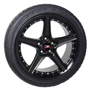 (4) SALEEN STYLE BLACK FORD MUSTANG S281 17 INCH WHEELS