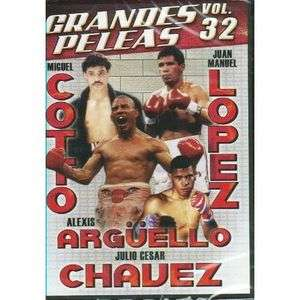 Peleas Vol 32 DVD NEW Miguel Cotto Juan Manuel Lopez Jc Chavez