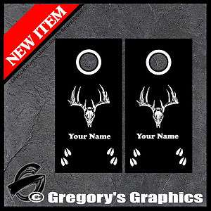 Cornhole Decals Whitetail Deer Outdoor Hunting Decals