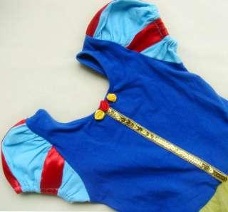Halloween Disney Princess Snow White Girls Kids Pary Costume Ballet