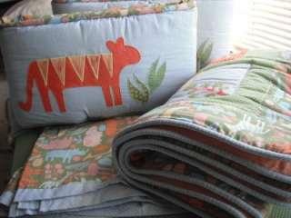 Cotton Tale Tiger Tale Baby boy / girl Crib bedding Set 4pc !