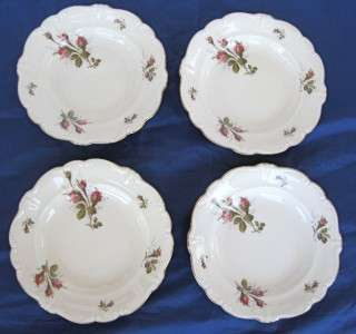 Rosenthal Pompadour Selb Germany Moss Rose Dinner Plates