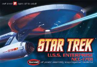 POLAR LIGHTS 803 1/1000 Star Trek USS Enterprise NCC170