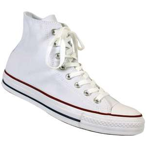 Converse All Star High White Canvas Shoes for Men