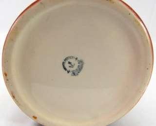 Antique Anchor Pottery Trenton Whippet Dog 12 Tankard