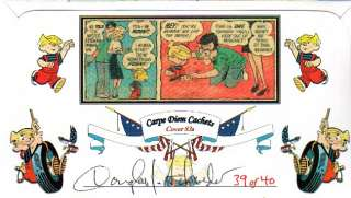 CARPE DIEM 4471 Dennis Menace w/Policeman Stamp 83A