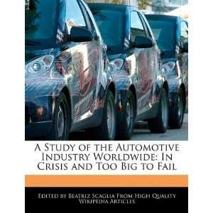 In Crisis and Too Big to Fail (9781241713461) Beatriz Scaglia Books
