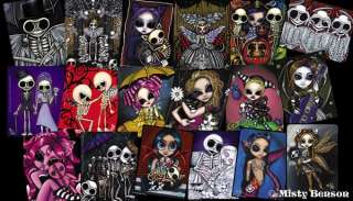 Sticker El Dia de Los Muertos Day of the Dead Skeleton