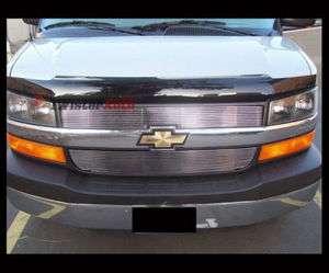 03   09 Chevy Express Van Aluminum Billet Grille Grill