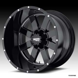 MOTO METAL 962 NEW FOR 2012 8 ON 6.5/ 8 LUG FORD CHEVY DODGE WHEELS