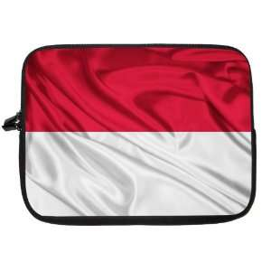 Indonesia Flag Laptop Sleeve   Note Book sleeve   Apple iPad   Apple