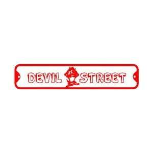 DEVIL LANE sign * street taz cartoon animal: Home & Kitchen