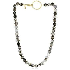 Kaie Walman Jewelry African Sparkled Agae wih Gold