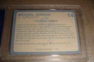 Collection Michael Jordan North Carolina #14 WCT Mint 10 Card