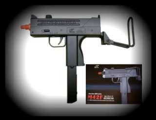 Double Eagle MAC11 UZI Airsoft Spring Gun M42F Pistol