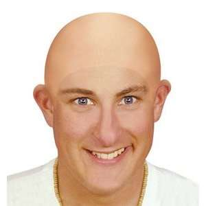 Bristol Novelty Bald Head Wig Latex Cap Dr Evil Clown