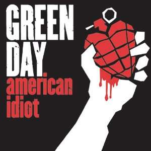 GREEN DAY AMERICAN IDIOT BUTTON