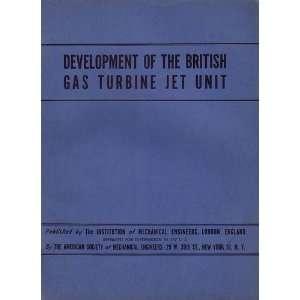 Development of the British Gas Turbine Jet Unit Constant