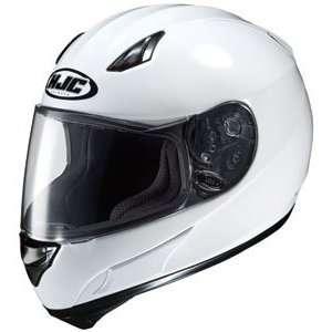 HJC AC 12 Full Face Motorcycle Helmet White Extra Small