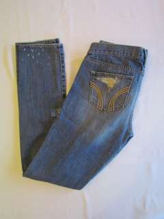 Womens Destroyed Jeans Denim Light Wash Size 7 Waist 28 NWT