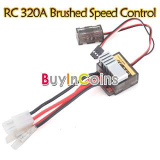 RC VSC 320A Brushed Speed Control ESC For 1/8 1/10 Car Truck Rock