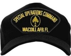 MACDILL AFB SPECIAL OPERATIONS AIR FORCE HAT CAP