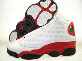 Air Jordan Retro 13 GS White/Red 414574 101 Boy 3.5   7