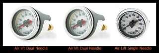 AIR LIFT 200 PSI 3 GAUGE PACK AIR RIDE SUSPENSION BAGS